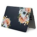 "voordelige iPhone 6 hoesjes-MacBook Hoes Bloem PVC voor MacBook Pro 13"" / MacBook Pro 15'' met Retina-scherm / New MacBook Air 13"" 2018"