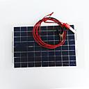 ieftine Becuri LED Corn-zdm 18v 12v 10w încărcător solar baterie auto încărcător portabil sunpower panou solar încărcător de praf cu dop brichetă, baterie de încărcare linie clip pentru motocicleta rv barca marin snowmobile
