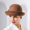 ieftine Moda Lolita-Minunata doamnă Maisel Pentru femei Adulți femei Retro / Vintage Pălării Felt pălărie Maro Roz Roșu Vintage Floare Lână Veșminte de cap Lolita Accesorii