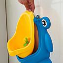 رخيصةأون أدوات الحمام-1PC الضفدع الأطفال قعادة المرحاض تدريب الاطفال المبولة للفتيان Pee المدرب الحمام