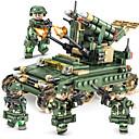 رخيصةأون المكياج & العناية بالأظافر-أحجار البناء مجموعة ألعاب البناء ألعاب تربوية 4 pcs متوافق Legoing من صنع يدوي التفاعل بين الوالدين والطفل سيارة حربية الجميع للصبيان للفتيات ألعاب هدية