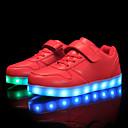 رخيصةأون الأساور الذكية-للصبيان أحذية مضيئة PU أحذية رياضية الأطفال الصغار (4-7 سنوات) / الأطفال الصغار (7 سنوات +) أحمر / أزرق / زهري الخريف / الشتاء