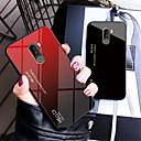 رخيصةأون Xiaomi أغطية / كفرات-غطاء من أجل Xiaomi Xiaomi Pocophone F1 / Xiaomi Mi 8 / Xiaomi Mi 8 SE مرآة غطاء خلفي لون متغاير قاسي زجاج مقوى