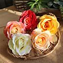 رخيصةأون أزهار اصطناعية-زهور اصطناعية 5 فرع كلاسيكي زهري الزفاف الورود أزهار الطاولة