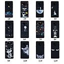 رخيصةأون أغطية أيفون-غطاء من أجل Samsung Galaxy Note 9 مثلج / نموذج غطاء خلفي جملة / كلمة / منظر / حيوان ناعم TPU