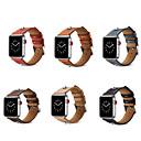 voordelige Apple Watch-bandjes-Horlogeband voor Apple Watch Series 5/4/3/2/1 / Apple Watch Series 4 Apple Klassieke gesp Echt leer Polsband