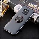 رخيصةأون Huawei أغطية / كفرات-غطاء من أجل Huawei Huawei P20 / Huawei P20 Pro / Huawei P20 lite حامل الخاتم / نحيف جداً / شفاف غطاء خلفي لون سادة ناعم TPU