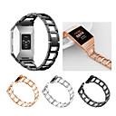 povoljno Narukvice za satove Garmin-Pogledajte Band za Fitbit ionic Fitbit Sportski remen / Dizajn nakita Nehrđajući čelik Traka za ruku