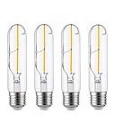 povoljno Kućišta / poklopci za Oneplus-4kom 2 W LED filament žarulje 180-200 lm E26 / E27 T30 2 LED zrnca COB Ukrasno Toplo bijelo 220-240 V / RoHs