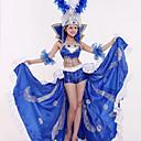 ieftine USB-uri-Carnaval Spaniolă Doamnă Adulți Pentru femei Paiete Flamenco Halloween Costume Șapcă Samba Pentru Paietă Poliester Paiete Halloween Carnaval Mascaradă Fuste Vârf Veșminte de cap