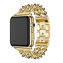 رخيصةأون أساور ساعات هواتف أبل-حزام إلى Apple Watch Series 4/3/2/1 Apple عصابة الرياضة ستانلس ستيل شريط المعصم