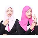 رخيصةأون الأساور الذكية-حجاب لون سادة نسائي - متعدد الطبقات حرير الرايون / شيفون, أساسي / كل الفصول