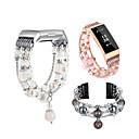 رخيصةأون ساعات ذكية-حزام إلى Fitbit Charge 3 فيتبيت عصابة الرياضة / تصميم المجوهرات خزفي شريط المعصم