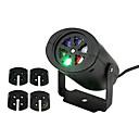 ieftine Proiectoare LED-ywxlight® se deplasează Crăciun cu laser de zăpadă proiector lampă fulg de zăpadă a condus lumina partid multicolor pentru Craciun de vacanță disco stadiu lampă
