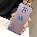 رخيصةأون Xiaomi أغطية / كفرات-غطاء من أجل Samsung Galaxy Note 9 ضد الصدمات / ضد الغبار / مقاوم للماء غطاء خلفي لون سادة ناعم TPU