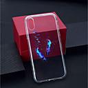 povoljno iPhone maske-Θήκη Za Apple iPhone XS / iPhone XR / iPhone XS Max Prozirno / Uzorak Stražnja maska Perje Mekano TPU