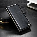 رخيصةأون Sony أغطية / كفرات-غطاء من أجل Sony Sony Xperia XZ3 / Xperia XZ2 Compact / Xperia XZ2 محفظة / حامل البطاقات / مع حامل غطاء كامل للجسم لون سادة قاسي جلد PU