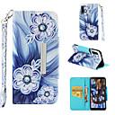 رخيصةأون Sony أغطية / كفرات-غطاء من أجل Samsung Galaxy Galaxy A7(2018) محفظة / حامل البطاقات / قلب غطاء كامل للجسم زهور قاسي جلد PU