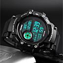 رخيصةأون Huawei أغطية / كفرات-SKMEI رجالي ساعة رقمية رقمي جلد اصطناعي أسود 50 m مقاوم للماء رزنامه الكرونوغراف رقمي كاجوال موضة - أسود / ساعة التوقف / قضية