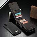 رخيصةأون حافظات / جرابات هواتف جالكسي S-غطاء من أجل Apple iPhone XS Max محفظة / حامل البطاقات / مع حامل غطاء كامل للجسم لون سادة قاسي جلد PU
