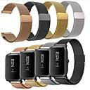 voordelige Smartwatch-hoezen-Horlogeband voor Huami Amazfit Bip Younth Watch Xiaomi Milanese lus Roestvrij staal Polsband