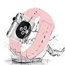 povoljno Modne ogrlice-Pogledajte Band za Apple Watch Series 4/3/2/1 Apple Sportski remen / Klasična kopča Silikon Traka za ruku