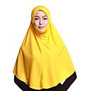 povoljno Naušnice-Žene Jednobojni Osnovni Više slojeva, Poliester - Hijab / Sva doba
