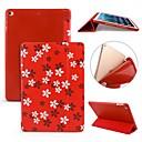 رخيصةأون أغطية أيباد-غطاء من أجل Apple iPad Air / iPad 4/3/2 / iPad Mini 3/2/1 ضد الصدمات / قلب / نحيف جداً غطاء كامل للجسم زهور ناعم سيليكون