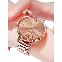 cheap Women's Watches-Women's Wrist Watch Quartz Stainless Steel Silver / Gold / Rose Gold 30 m Water Resistant / Waterproof Casual Watch Analog Ladies Casual Fashion - Gold Silver Rose Gold