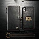 povoljno Maske/futrole za Huawei-Θήκη Za Apple iPhone XR Novčanik / Utor za kartice / Zaokret Korice Jednobojni Tvrdo PU koža