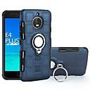 ieftine Faruri de Mașină-Maska Pentru Motorola Moto E4 Plus / Moto E4 Anti Șoc / Suport Inel Capac Spate armură Greu PC