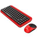 olcso iPhone 6 Plus tokok-ZERODATE zero Vezeték nélküli 2,4 GHz-es Egér billentyűzet Combo Bájos / 3D figura / Menő Office billentyűzet Csendes Gaming Mouse / Office Mouse 1600 dpi