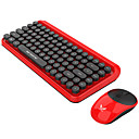 voordelige iPhone 6 Plus hoesjes-ZERODATE zero Draadloze 2.4GHz Muistoetsenbord combo Schattig / 3D Cartoon / Cool Office toetsenbord Stil gaming Mouse / Office Mouse 1600 dpi