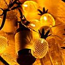 ieftine Ceasuri Bărbați-2m Fâșii de Iluminat 10 LED-uri Galben Decorativ / Adorabil 5 V