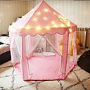 povoljno LED noćna rasvjeta-sklopivi tipi djeca šator igrati kuću teepee prijenosni igračke šatori za djecu baby girl dječak otvoreni zatvoreni igraonica princeza dvorac