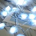 povoljno LED svjetla u traci-1m Žice sa svjetlima 10 LED diode Plavo Party 5 V 1set