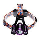 povoljno Digitalni multimetri i osciloskopi-U'King Svjetiljke za glavu Svjetlo za bicikle LED LED emiteri 3 rasvjeta mode s punjačima Zoomable Podesivi fokus Jednostavno za nošenje Kampiranje / planinarenje / Speleologija Uporaba Biciklizam
