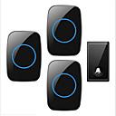 povoljno Sigurnosni senzori-Factory OEM Bez žice Jedan do tri vrata Glazba / Ding Dong Non-visual doorbell