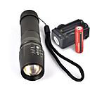 ieftine lanterne-UltraFire W-878 Lanterne LED 1800 lm LED LED 1 emițători 5 Mod Zbor cu Baterii și Încărcătoare Mâner antialunecare Camping / Cățărare / Speologie Utilizare Zilnică Ciclism Priză EU Priză AU Priză UK
