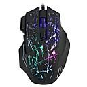 رخيصةأون جسم السيارة الديكور والحماية-HXSJ A874 السلكي USB لعب الفأر / ماوس مكتب ضوء LED 3200 dpi 4 مستويات DPI قابلة للتعديل 7 pcs مفاتيح 7 مفاتيح قابلة للبرمجة