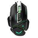 povoljno Kućišta/futrole za Kindle-ZERODATE G12 Žičani USB igraći miš / Ured za miš Led rasvjeta 3200 dpi 4 Podesive DPI razine 7 pcs ključevi 7 tipki koje se mogu programirati