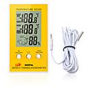 رخيصةأون آلات الحرارة-dc105 lcd ميزان الحرارة الرقمي الرطوبة محطة الطقس المنزلية داخلي