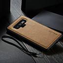 رخيصةأون إكسسوارات سامسونج-غطاء من أجل Samsung Galaxy Note 9 ضد الماء / ضد الصدمات / اصنع بنفسك غطاء خلفي لون سادة قاسي جلد PU