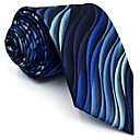 رخيصةأون ربطات عنق-ربطة العنق مخطط / خملة الجاكوارد رجالي حفلة / عمل / أساسي