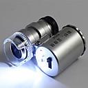 رخيصةأون Storage Supplies-الأشعة فوق البنفسجية ضوء المحمولة المجوهرات المكبر زجاج العدسة لتحديد العملة اليشم