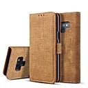 voordelige Galaxy Note-serie hoesjes / covers-hoesje Voor Samsung Galaxy Note 9 / Note 8 Portemonnee / Kaarthouder / met standaard Volledig hoesje Effen Hard PU-nahka