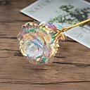 رخيصةأون ديكورات خشب-زهور اصطناعية 1 فرع كلاسيكي ترف الحديث الورود أزهار الطاولة