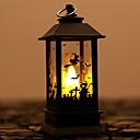 ieftine LED-uri-Lampa de ulei led lampă de noapte lumina cimitir liliac vrăjitoare casa bântuită înfricoșătoare pentru decorarea de Halloween casă bântuită 1 buc