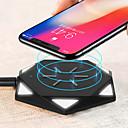 povoljno Bežični punjači-Bežični punjač USB punjač USB Bežični punjač / Qi 1 USB port 0.5 A DC 5V za iPhone X / iPhone 8 Plus / iPhone 8