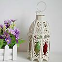 رخيصةأون Home Fragrances-النمط الأوروبي الزفاف الديكور الحرفية الهدايا الرجعية tieyi المغرب الملونة فانوس شمعدان